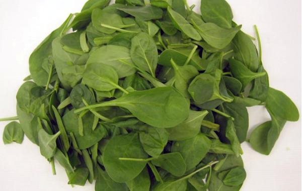 waran gröna grönsaker